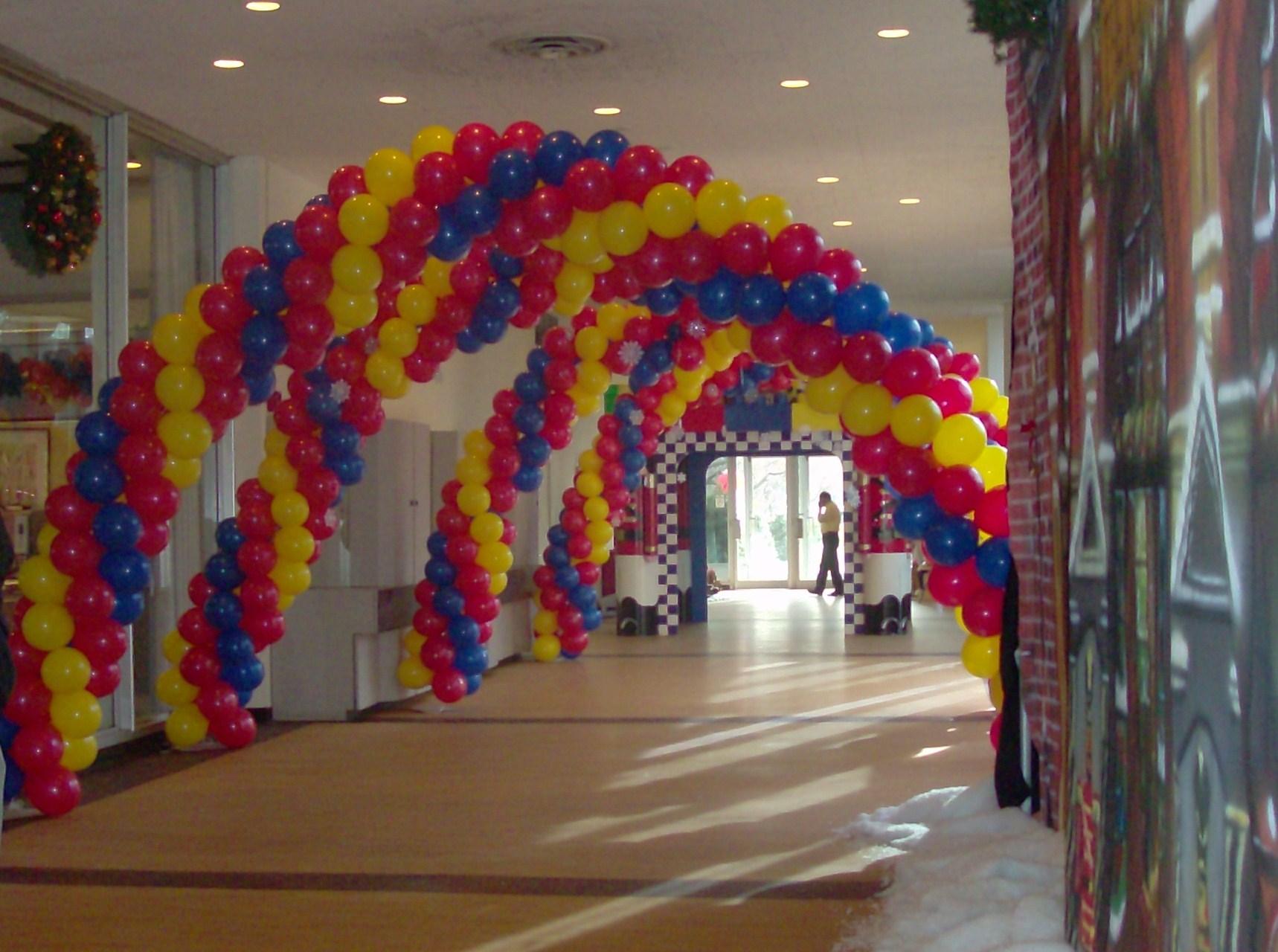 Spiral Walkway Arches