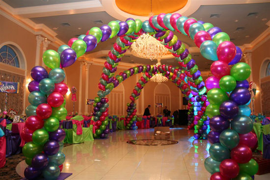 Double Criss Cross Canopy Arch