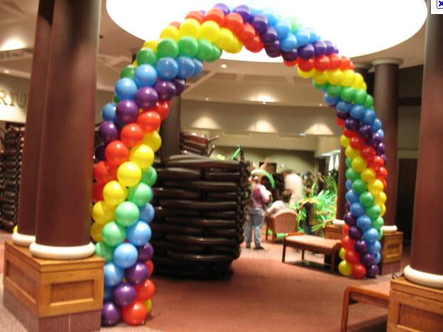 Framed Rainbow Arch