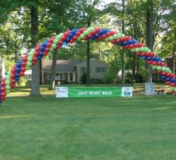 50 ft. Helium -Filled Arch