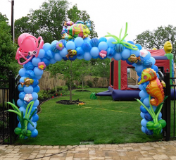 Under the Sea Theme arch
