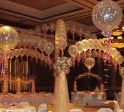 Crystal  Criss Cross Canopy Arch