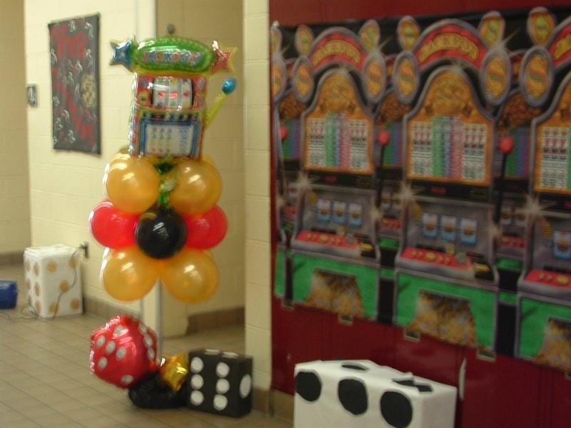 casino-theme columns