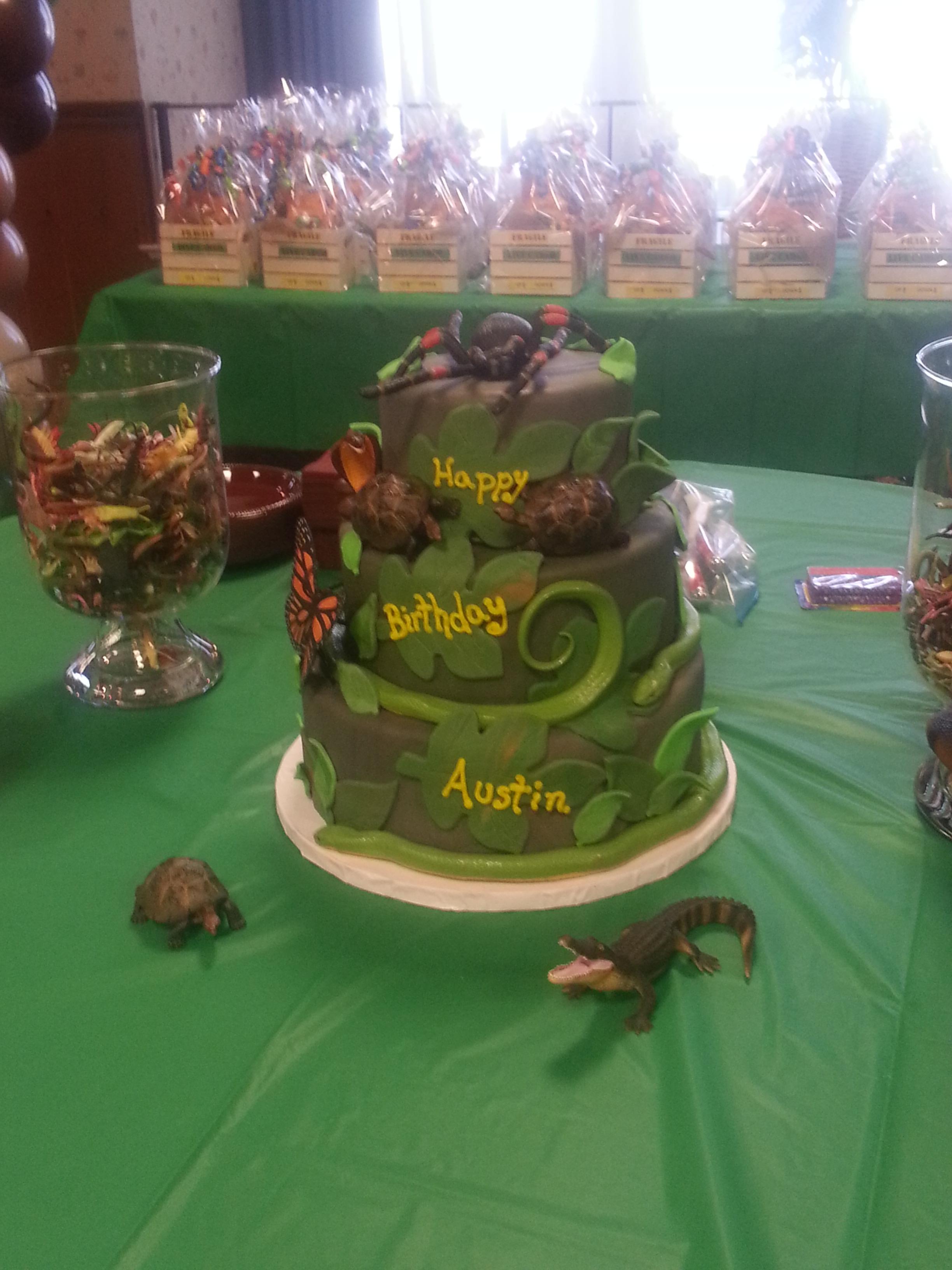 Austin\'s Reptile Party - Celebration Creations 2013 - Celebration ...