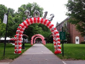 2013 Rutgers Reunion Balloon Arches