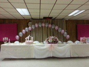 Zoe's Baby Dedication - Manchester Firehall - Parisienne Theme Decor (3)