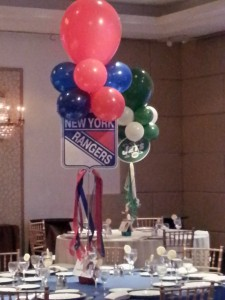NY Sports Theme Bar Mitzvah